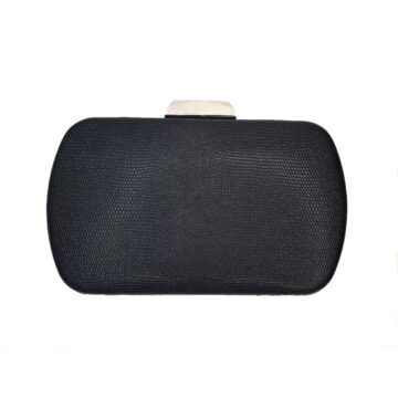 front and clasp image of clutch bag