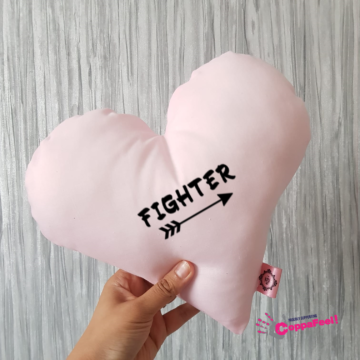Fighter Light Pink Cushion